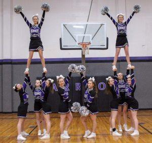 High School Stunt Cheer Team